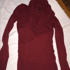 Maurices small scarf sweater